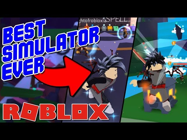 THIS is Robloxs Best Simulator Game EVER! (Ninja Wizard Simulator)