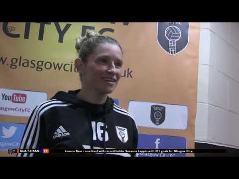 RECORD REACTION | Leanne Ross on 231 goals alongside Lappin.
