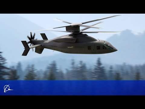 Sikorsky-Boeing DEFIANT X Revealed