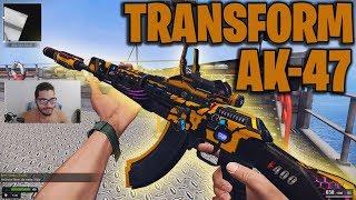 AK-47 FULL TRANSFORM, MUITO LINDA