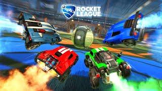 Rocket league with friends