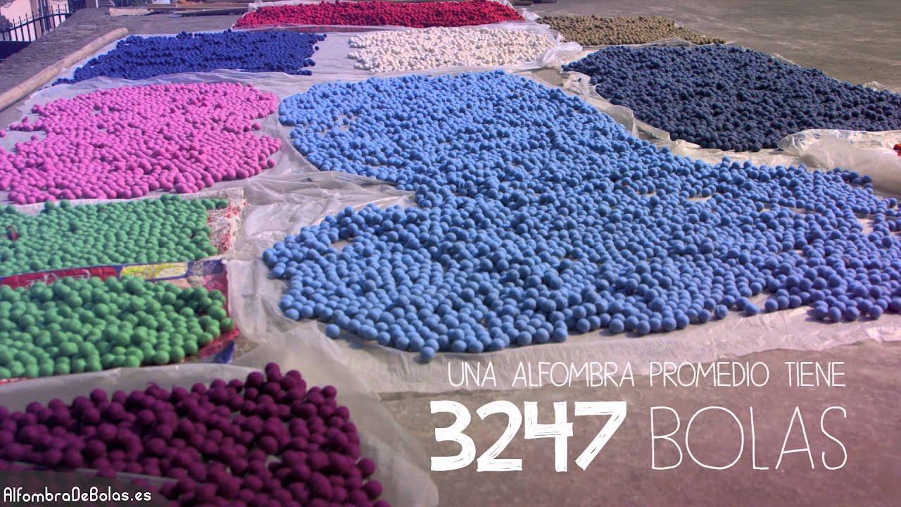Alfombra de bolas como hacemos una alfombra de bolas for Alfombras de pompones infantiles