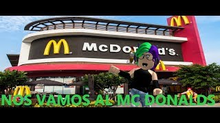 MINIQUEEN GOES TO MCDONALDS FOR THE FIRST TIME/MINI QUEEN // ROBLOX