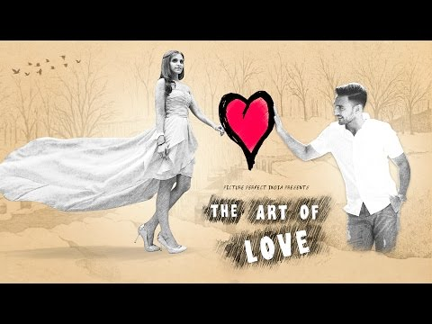 'The Art Of Love' - A Concept Wedding Film Of Kunal & Bindiya