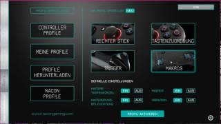 Nacon Revolution Pro Controller How to: Software Einstellungen und Übersicht