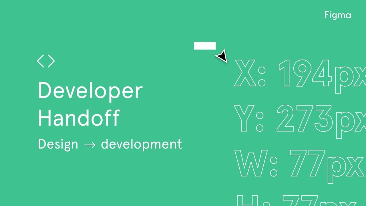 Developer Handoff - Figma