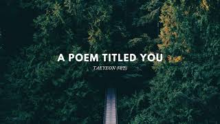 Taeyeon (태연) -  A Poem Titled You (그대라는 시) | Hotel Del Luna OST | 1 Hour