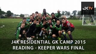 J4K Goalkeeping Camp Reading 2015 Keeper Wars Final