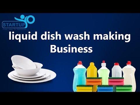 Liquid Dish Wash Making Business - StartupYo | www.startupyo.com