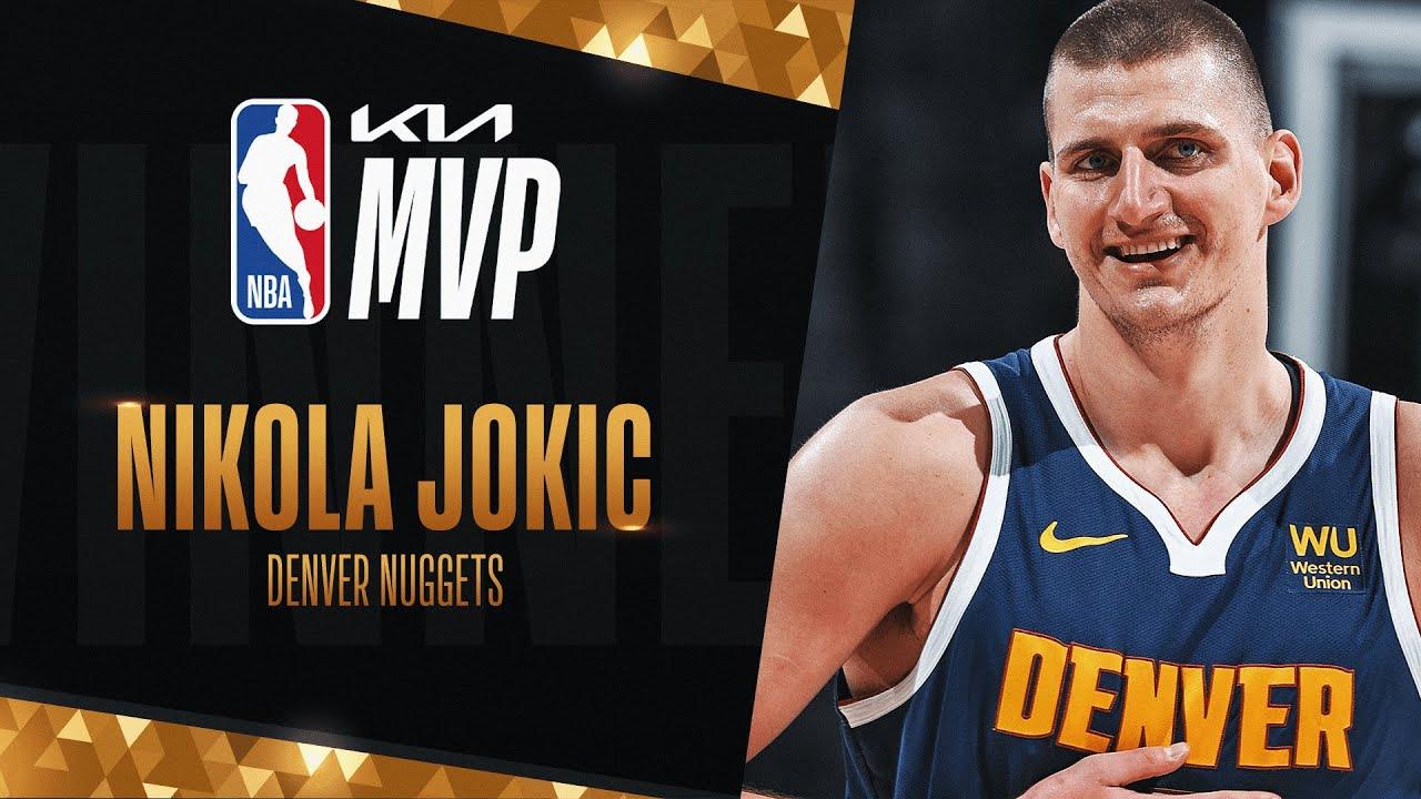Nikola Jokic wins 2020-21 Kia NBA Most Valuable Player Award