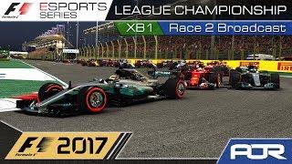 F1 Esports Series 2017: XB1 League Championship - Race 2 - Bahrain