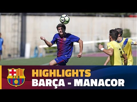 [HIGHLIGHTS] (Divisió d'Honor): Juvenil A - Manacor (2-0)
