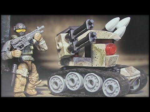 Let's Build - Mega Bloks Call of Duty Drone Attack Set