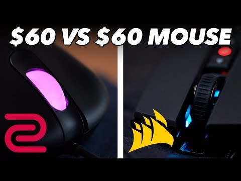 $60 Mouse Vs. $60 Mouse: We Try Zowie Vs. Corsair Gaming Mice In Fortnite / CS:GO