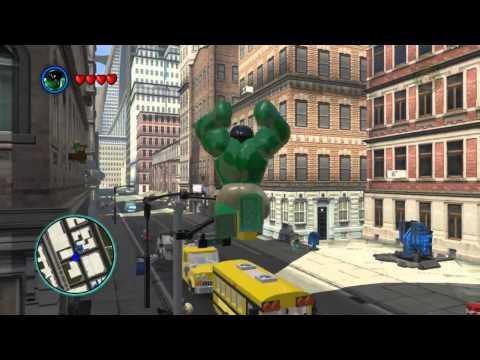 LEGO Marvel Super Heroes The Video Game - Hulk free roam