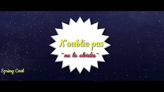 Mylène Farmer ft.  LP - N'oublie pas [Paroles/Lyrics] |Letra Español-Francés/Ingles|