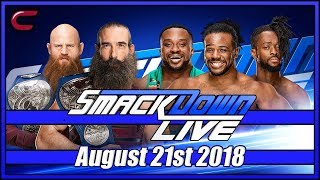 WWE SmackDown Live Stream August 21st 2018: Live Reaction Conman167