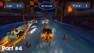 Kao Challengers PSP - I HATE THIS BOAT LEVEL - Part 4