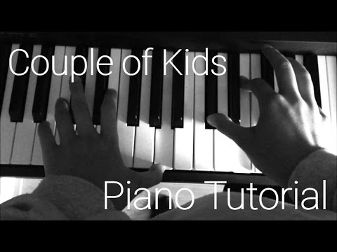 Couple Of Kids Piano Tutorial By Ariane Youtube