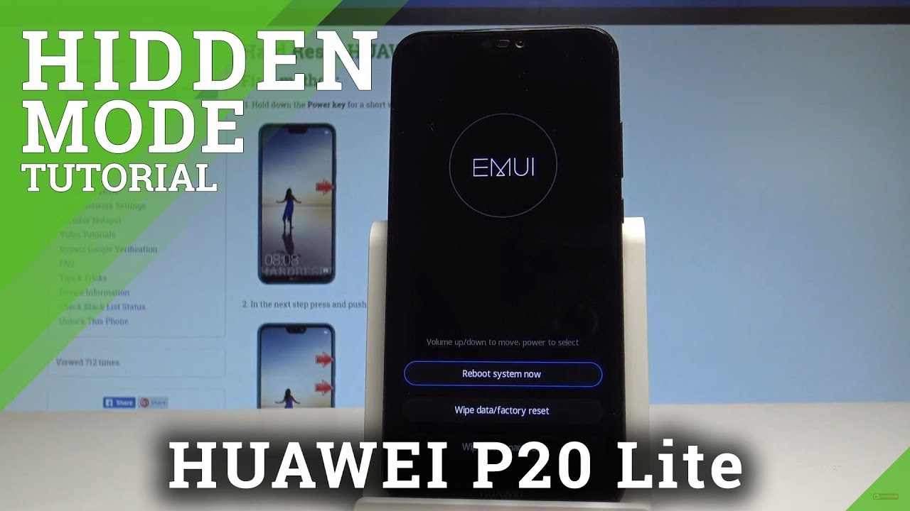 Recovery Mode HUAWEI P20 Lite - HardReset info