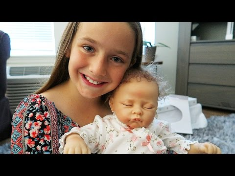 Reborn Baby Doll Surprise Unboxing Madison's First Reborn Doll Sophia