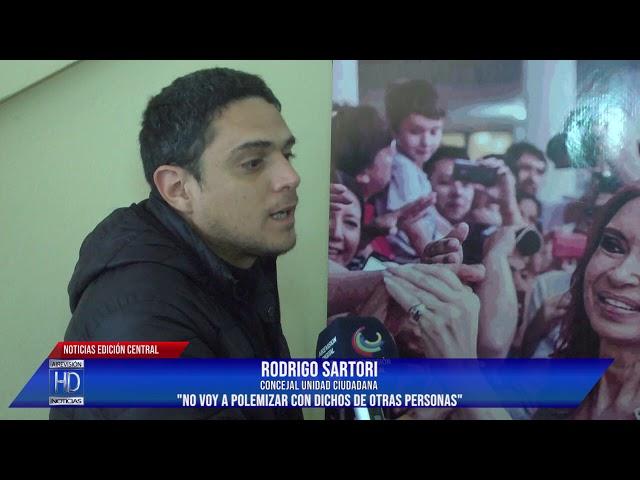 Sartori No fui invitado a la inauguración del local Frente Peronista Rosaleño