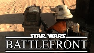 Droid Savior - Star Wars Battlefront Gameplay