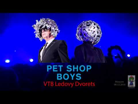 Pet Shop Boys (MULTICAM) Moscow FULLSHOW CONCERT 08.12.2016