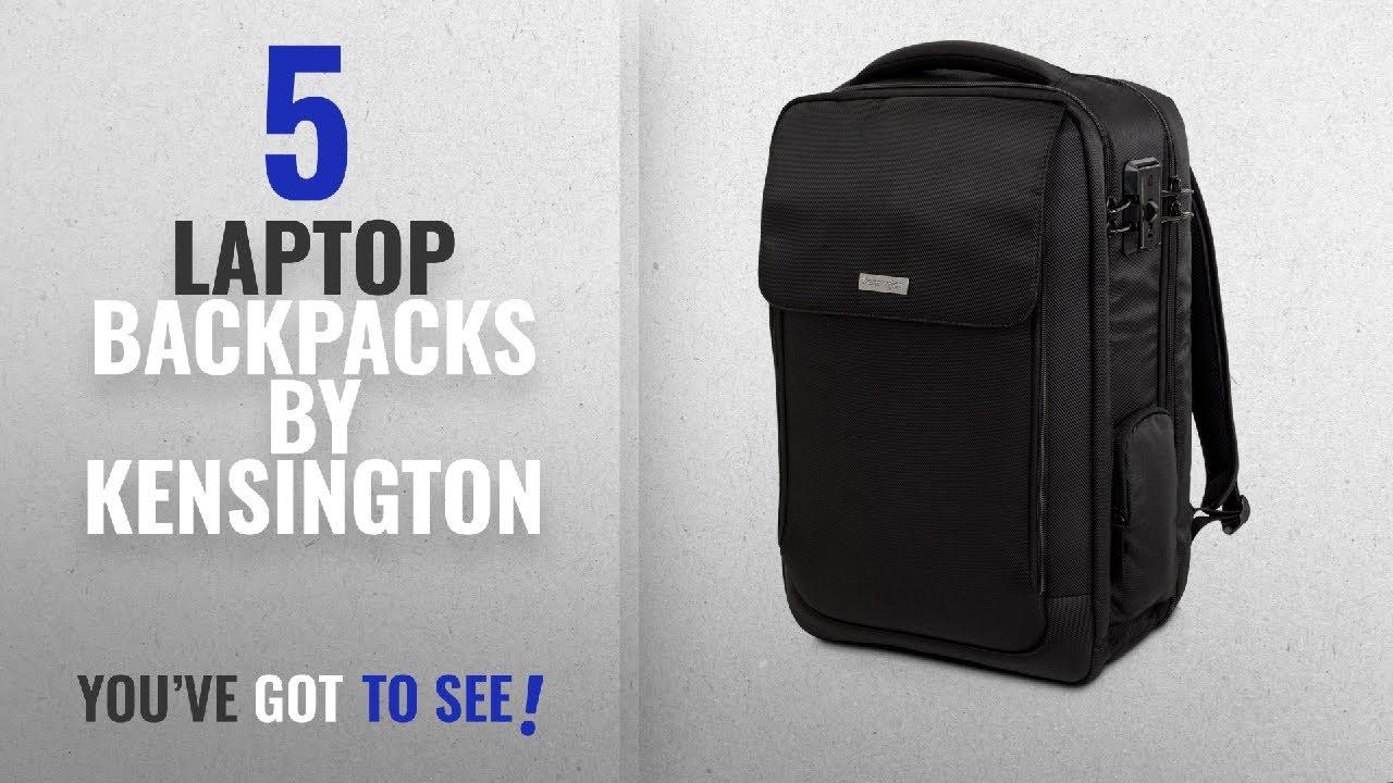 Top 10 Kensington Laptop Backpacks  2018   Kensington SecureTrek 17 ... f1d698647d61a