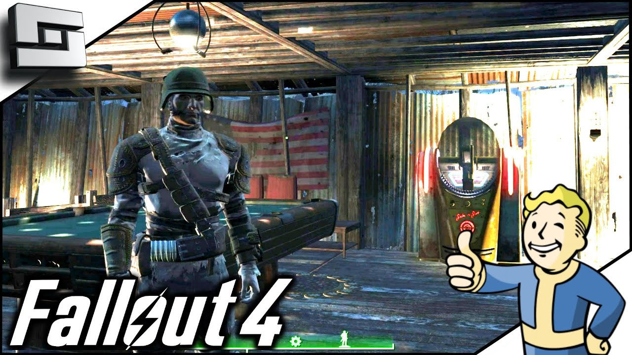 Fallout 4 gameplay interior decorating ep 16 youtube for Fallout 4 decorations