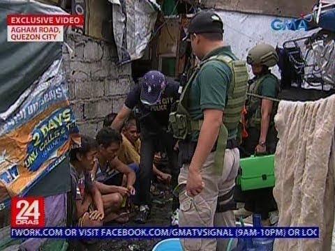 'Di bababa sa 20, nahuli ng PDEA sa mga lugar na talamak umano ang bentahan ng droga