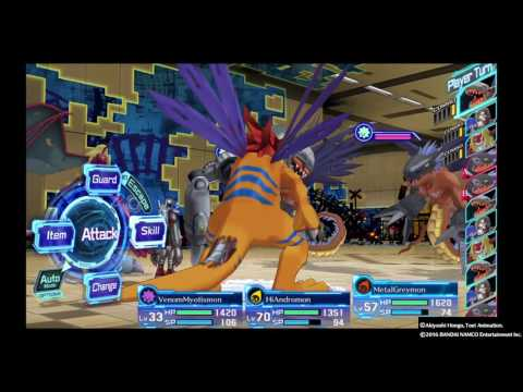 DIGIMON STORY CYBER SLEUTH Finally