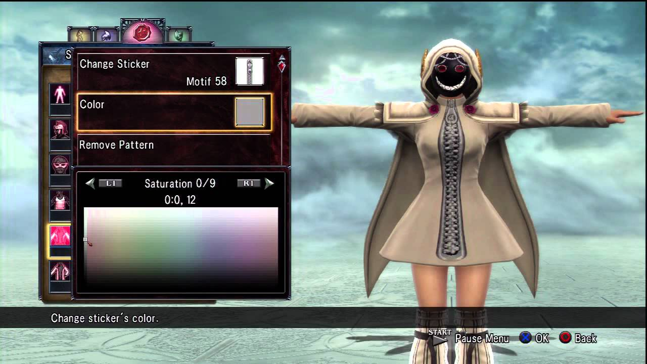Soul calibur 5 character creation formulas