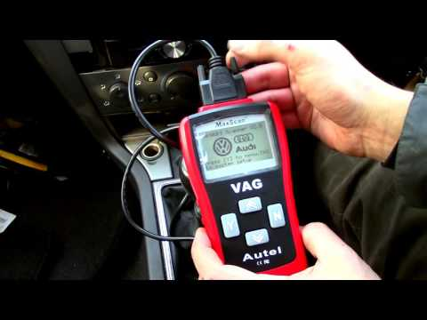 Vauxhall vectra ctdi 1.9 2008 odb II 2 fault code reader. VAG 405. Engine management light reset