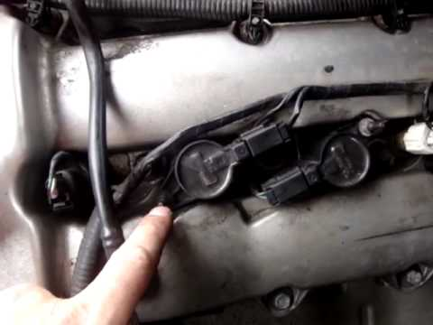 Changing Spark Plugs S type Jaguar 3.0 v6 - YouTube