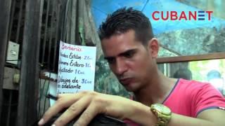 Los sueños de un joven barbero en La Habana, Cuba