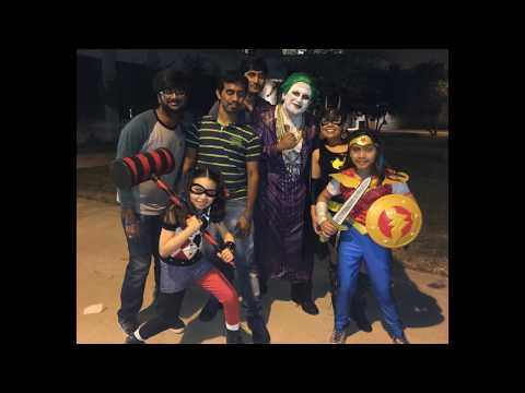 Halloween celebrations by an Indian in Laredo, USA-Mexico border city