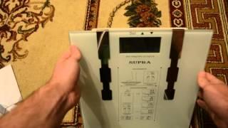 Обзор напольных электронных весов Supra bss-6600