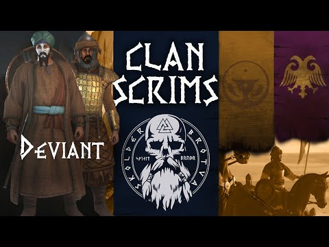 [SkBr] Scrim 2 Aserai V Empire | Mount & Blade 2 Bannerlord Beta Captain Mode