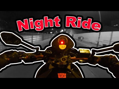 Night Ride (with Biker8 - NeoBiker - SoloRider - Vbiker) -Do what you love-