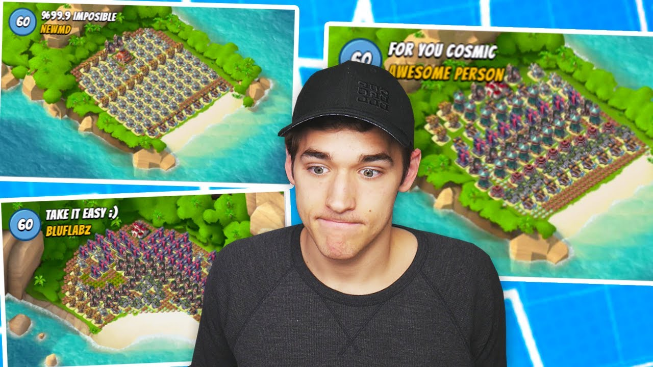 Download Boom Beach Attacking Impossible FAN MADE Bases!