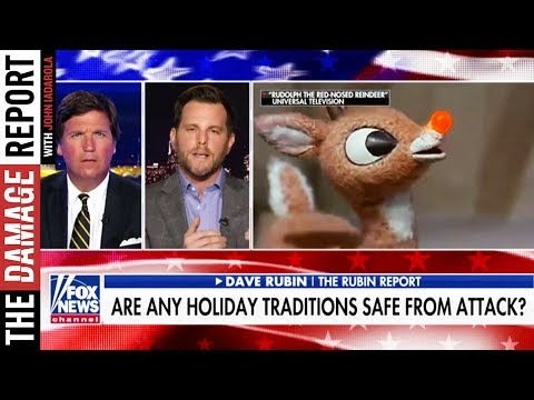 Tucker Carlson And Dave Rubin Are Worried About Rudolph