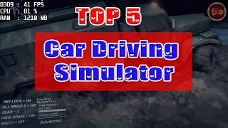 Top 5 Car Driving Simulator PC Game - Low end PC