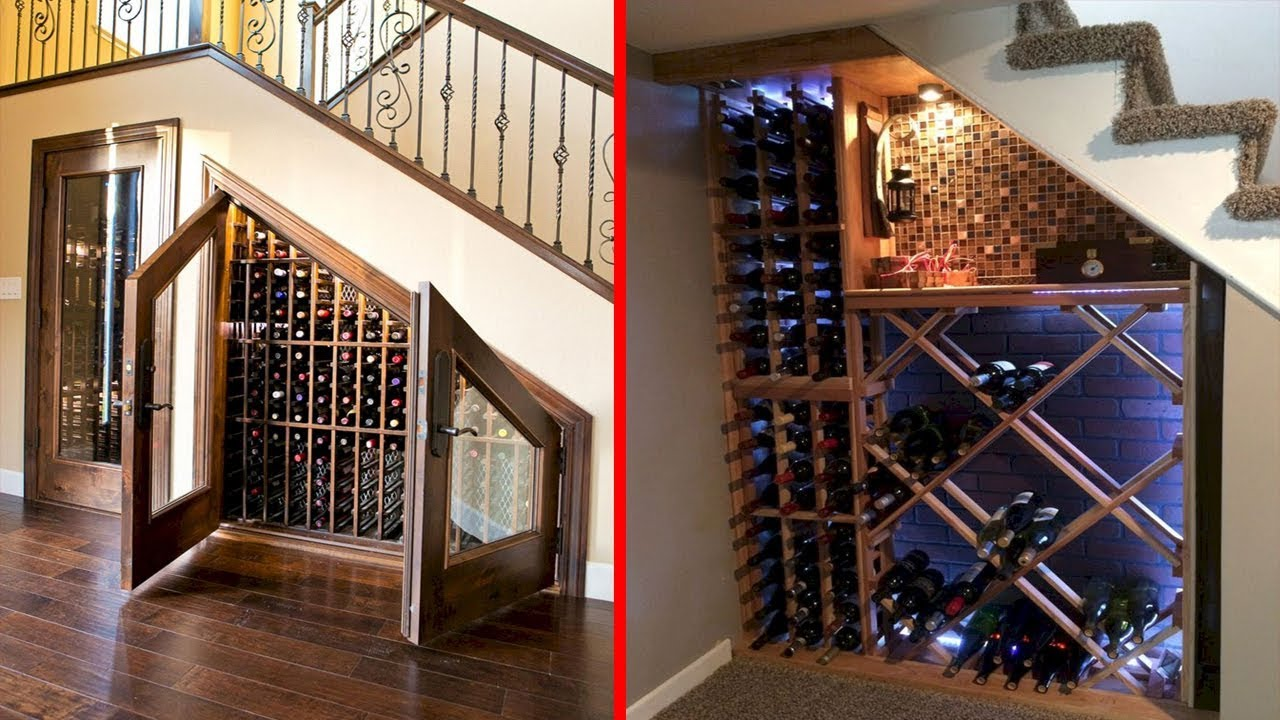 Cool Wine Cellar Under Stairs Wine Storage Ideas