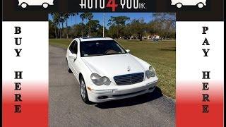 2003 Mercedes-BENZ C-Class $2000 Down