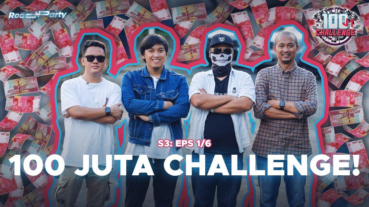 100 JUTA CHALLENGE: REBUTAN MOBIL (1/6)