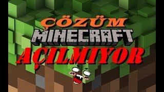 Minecraft Açılmıyor (2 kere tıklıyosanız sadece minecraft yazısı geliyor ve açılmıyor çözüm burda)