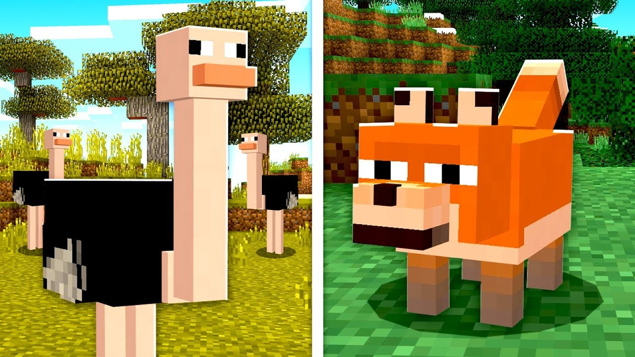 Sneak Preview New Minecraft 1 14 Mobs Youtube