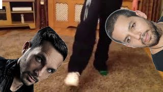 How to Tie Your Shoes With NO HANDS! (Like Dynamo and David Blaine!)