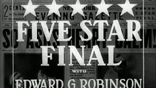 Five Star Final - Available Now on DVD
